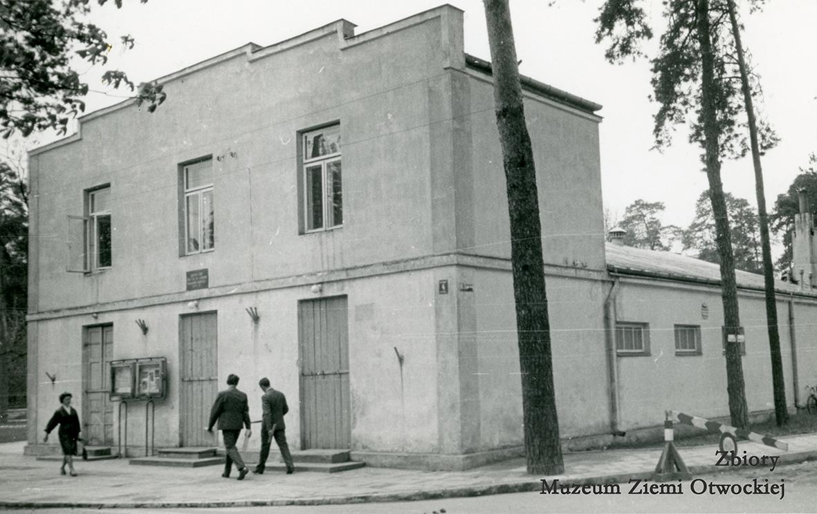 Budynek dawnego kina Oaza. Lata 60 XXw.
